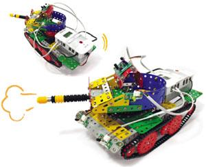 ساخت ربات تانک هوشمند