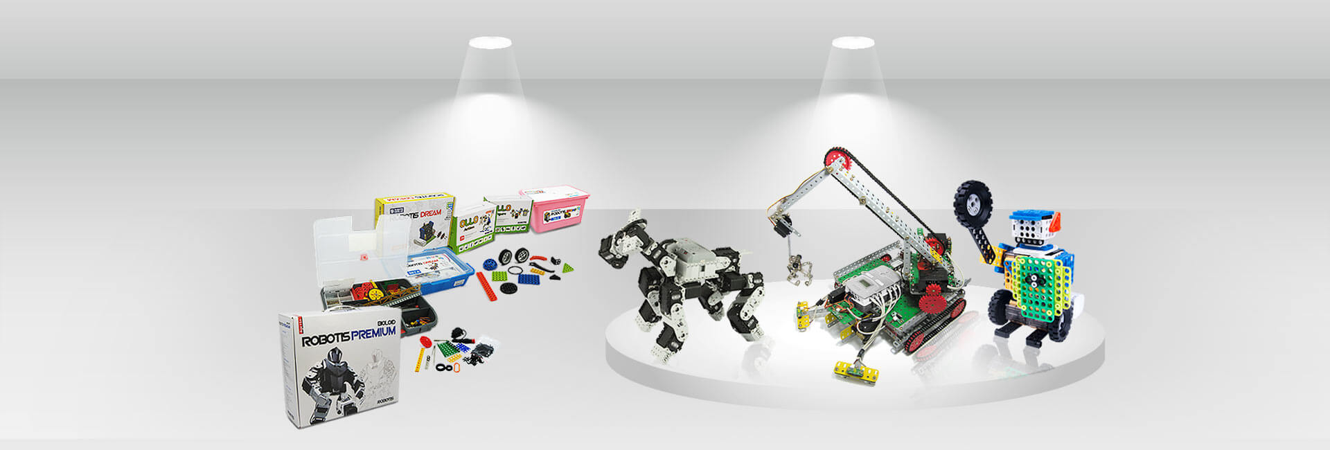 کیت آموزشی ساخت و ساز ربات برای کودکان دانش آموزان و بزرگسالان