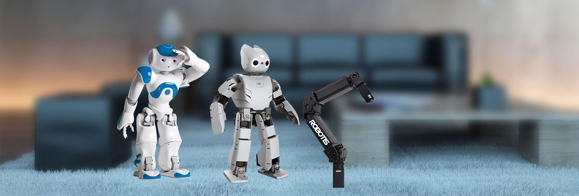 پلتفورم رباتیک ربات انسان نما بازوی ربات صنعتی و پژوهشی