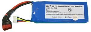 LIPO 11.1V 1800mAh LB-12