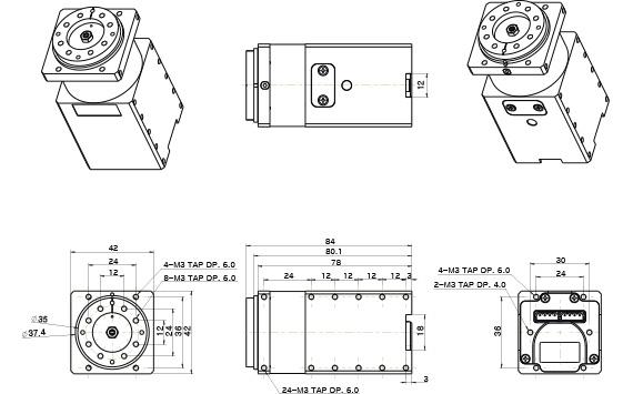 H42-20-S300-R ابعاد