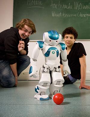 NAO ربات انسان نما نسخه روبوکاپ