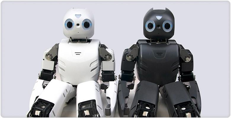 ROBOTIS OP تفاوت دو روبات انسان نما
