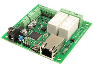 ماژول رله ۲ تایی با ۴ ورودی / خروجی دیجیتال