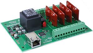 ماژول رله ۴ تایی با ۴ ورودی / خروجی دیجیتال
