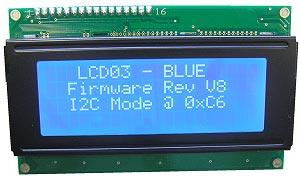 LCD03 نمایشگر ال.سی.دی سريال