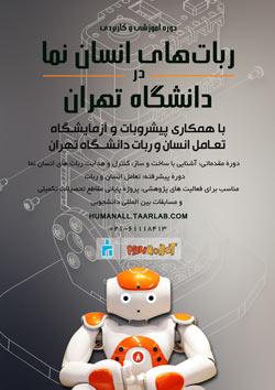 دوره های آموزشی و کاربردی ربات های انسان نما