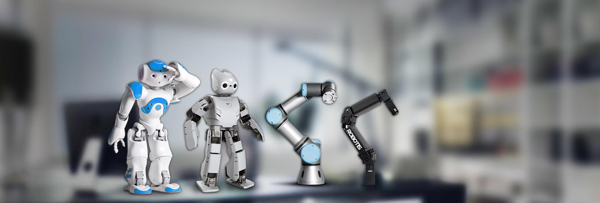 پلتفورم رباتیک ربات انسان نما بازوی رباتیک صنعتی و پژوهشی