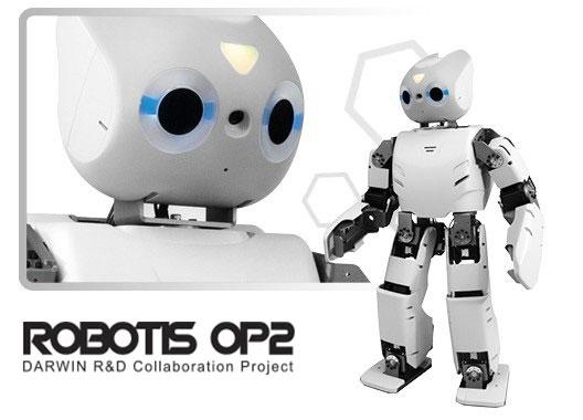 Robotis Op2 پلتفورم ربات انسان نما