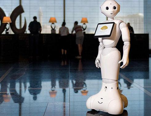 ربات اجتماعی پپر در هتل