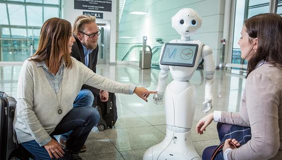 ربات پپر سرگرم کننده