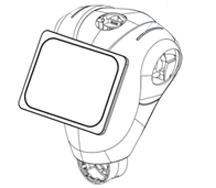 صفحه لمسی ربات پپر