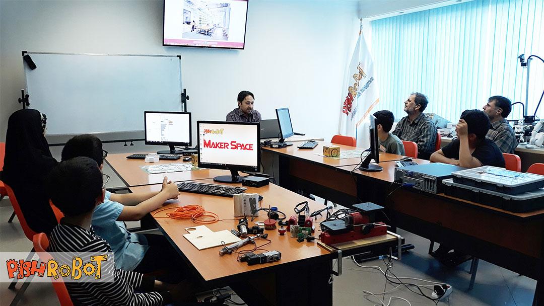 makerspace, کارگاه رباتیک