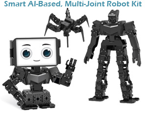 رباتیک، هوش مصنوعی و پیرنت سه بعدی همگی در یک کیت
